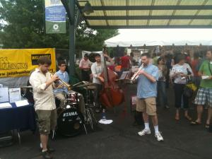 Taste of Bloomington with a Side of Jazz